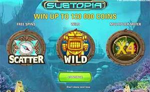 Subtopia Slot symbols