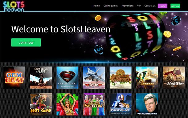 Slots Heaven UK casino