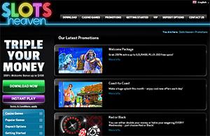Slots Heaven promo