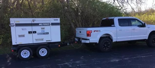 Mobile Cone Generator (13'x7') & Truck (19'x6')