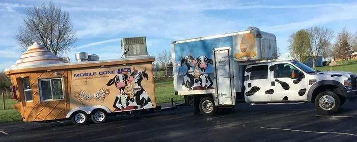 Mobile Cone (26'x8') & Box Truck (24'x9')