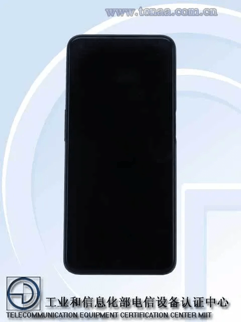 Realme RMX3161 front side