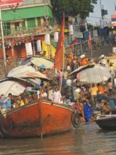 Chaos at the ghats
