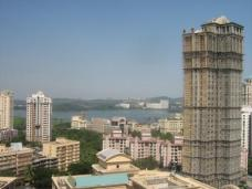 View from Powaii, the Northern Mumbai suburb where I stayed