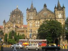 Colonial era buildings in Mumbai