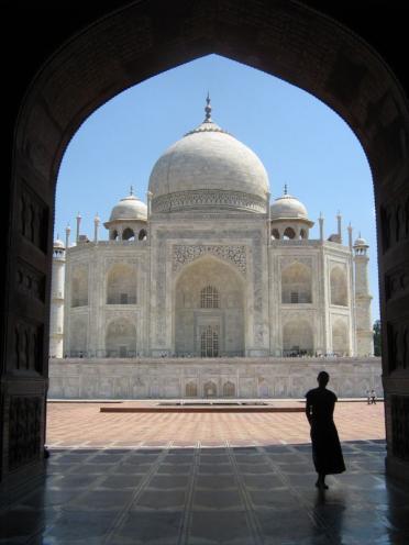 Me at the Taj Mahal
