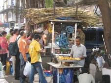 Sugar cane juice stall