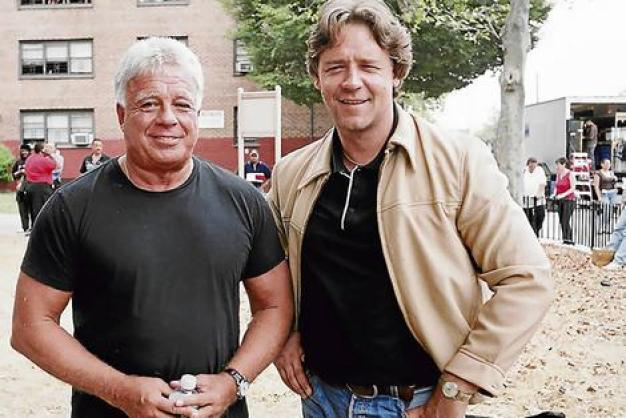 Richie Roberts and Russell Crowe