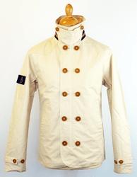 Evans LUKE 1977 retro mod double breasted jacket from Atom Retro £91