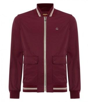 Merc Campbell Blouson Jacket in plum £39
