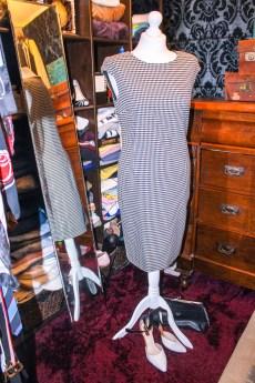 Zara houndstooth dress £9