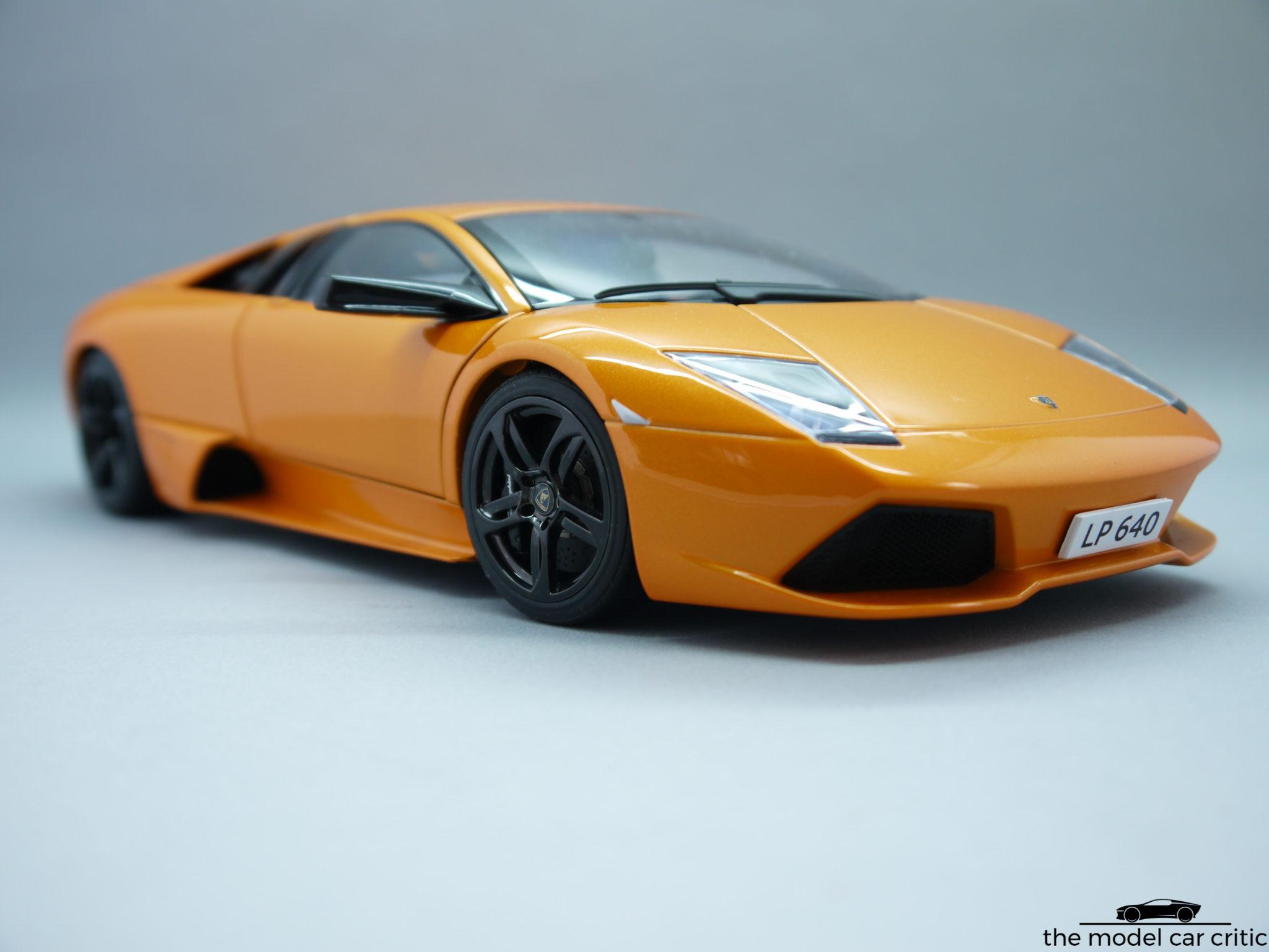 1 18 Autoart Lamborghini Murcielago Lp640 Review The Model Car Critic