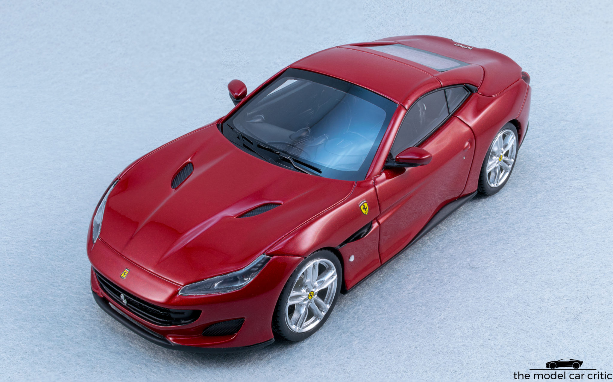 ls480d LookSmart Ferrari Portofino azzurro California 1:43