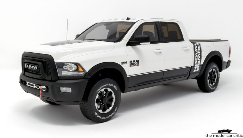 1 18 Gt Spirit Dodge Ram 2500 Power Wagon Review The Model Car Critic