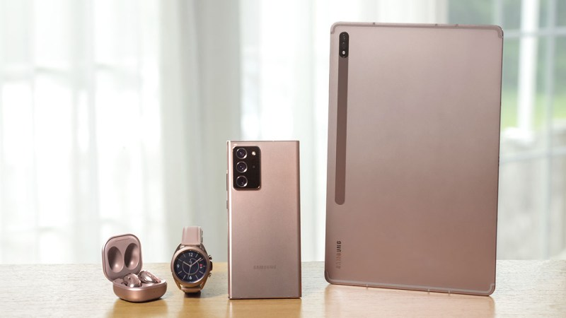 Samsung Galaxy Family Mystic Bronze