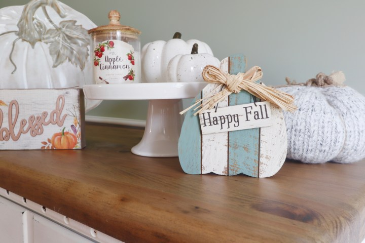 Neutral Fall Decor from Christmas Tree Shops