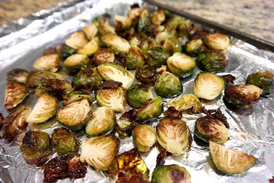 maple apple brussel sprouts