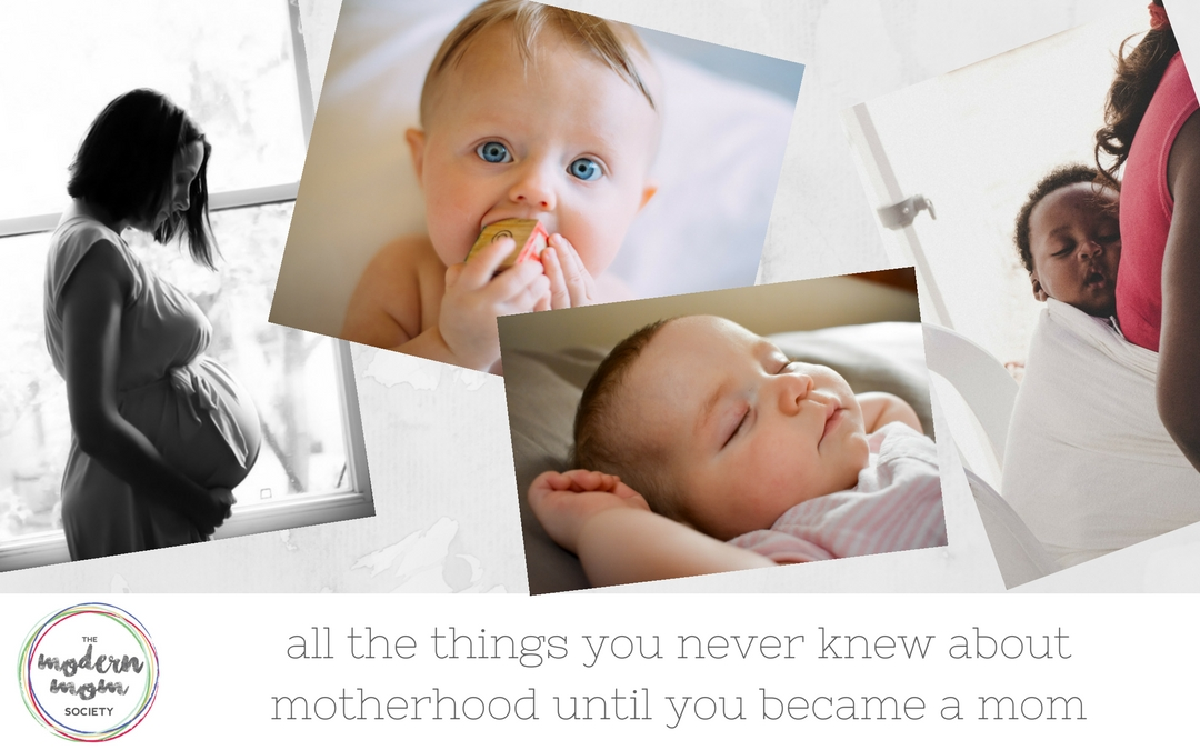 All of the things moms never thought about before they had their first child
