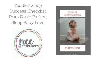 Toddler Sleep Success Checklist