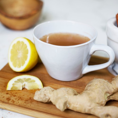 Immune-Boosting Drink Featuring Ginger and Cinnamon