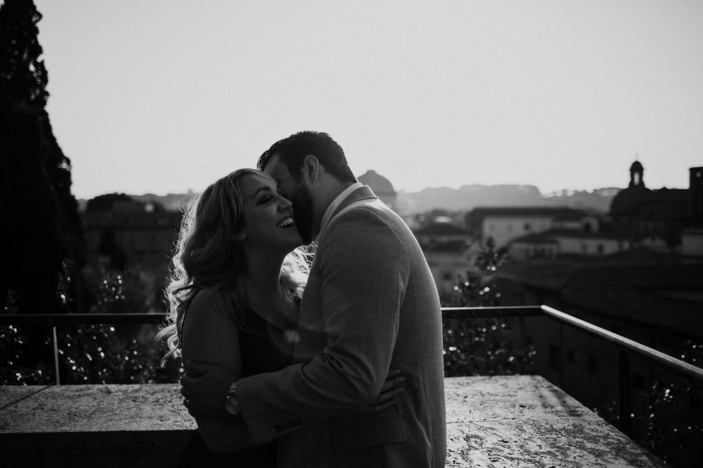 To Rome With Love, photoshoot for couple