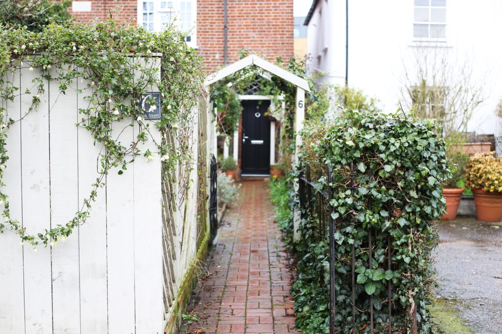 A charming home for a path