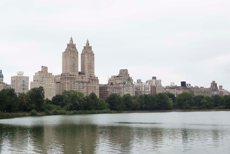 Central Park from the Jacqueline Kenndy Onassis Reservoir