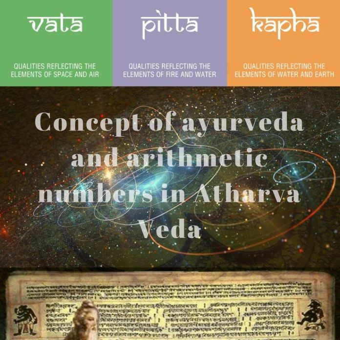 Concept of Ayurveda and Arithmetic Numbers in Atharva Veda
