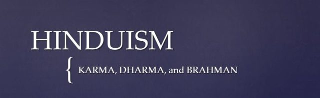 Hinduism philosophical views and its primary concepts?