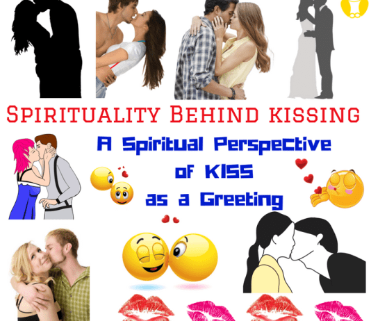 What is the Spiritual Perspective of Greeting Someone by Kiss or Kissing?