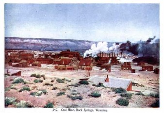 Rock Springs Coal Mine, approx. 1907.