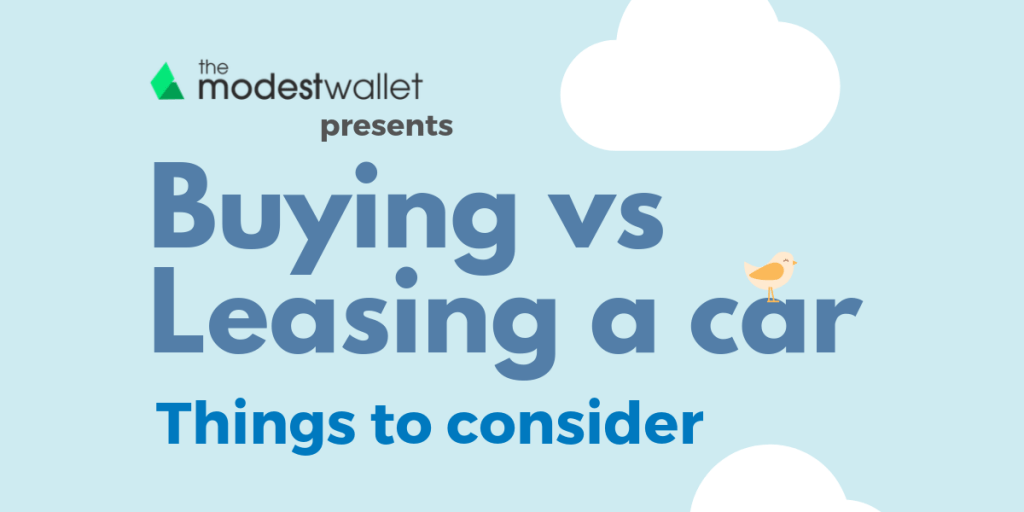 Buying vs Leasing a Car Infographic