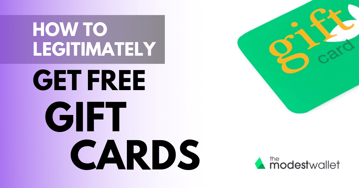 earn free gift cards fast and easy