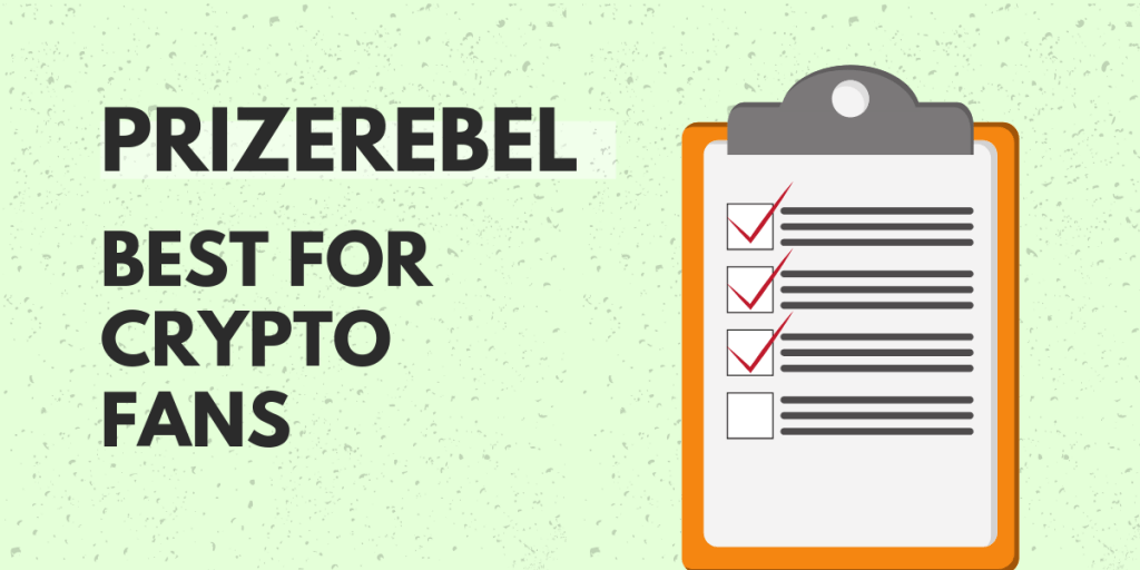 PrizeRebel: Best for Crypto Fans