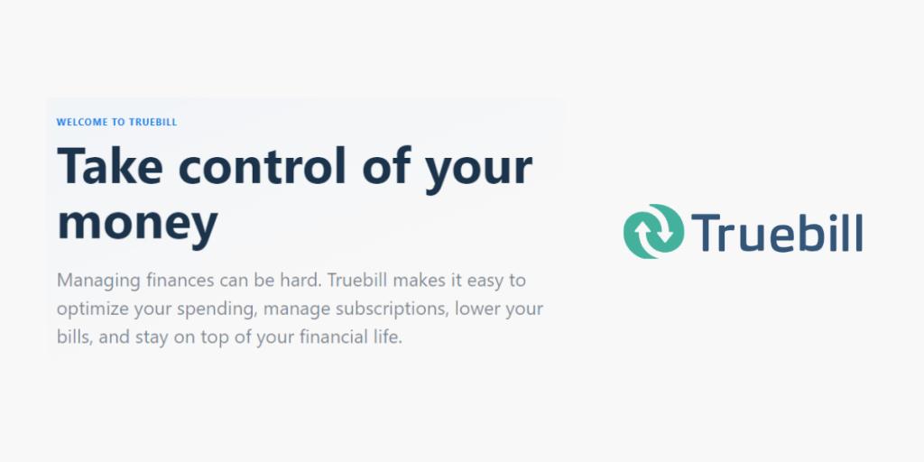What is Truebill