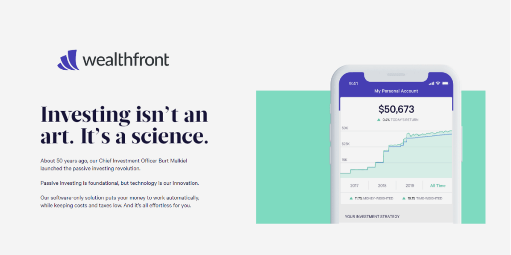 Wealthfront Investment App