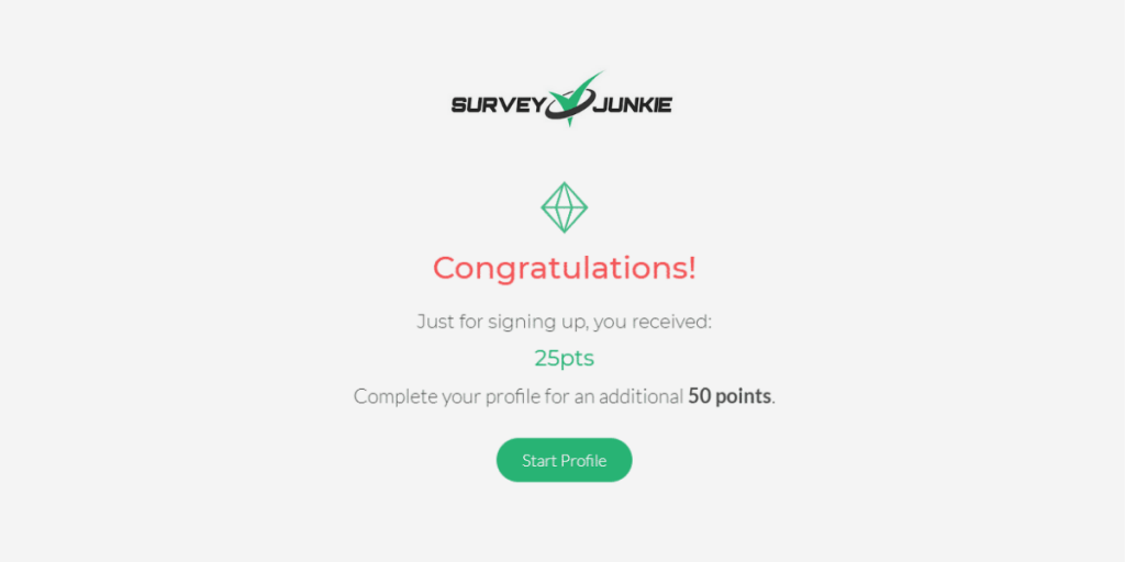 Survey Junkie Points