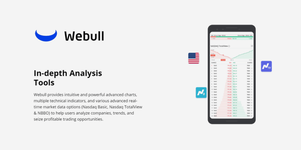 In Depth Analysis Tools Offered by Webull