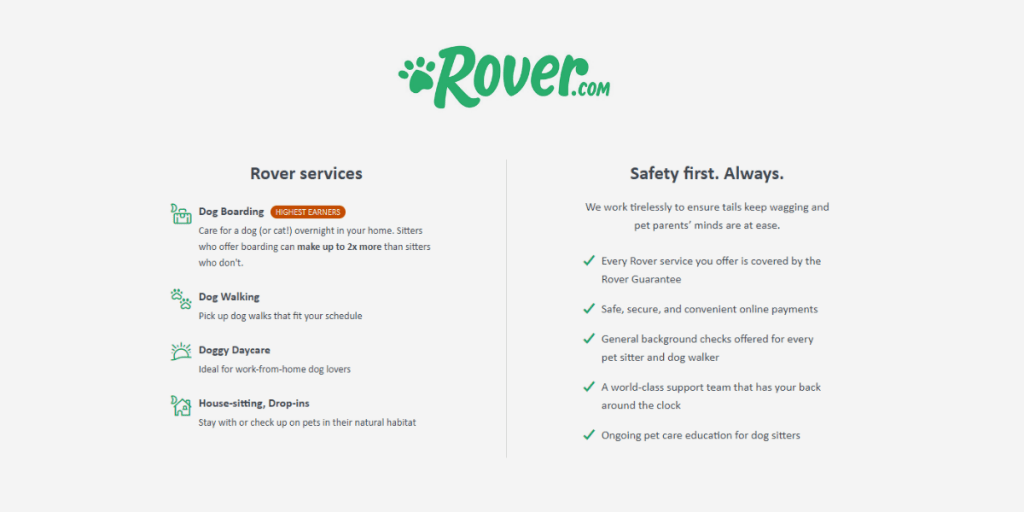 Make Money with Rover
