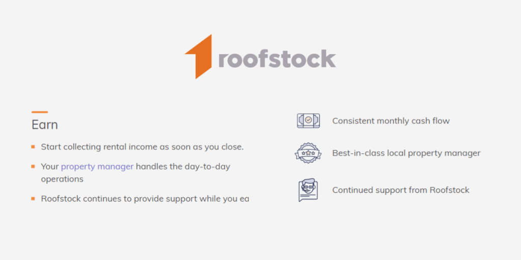 Start making money online with real estate with Roofstock