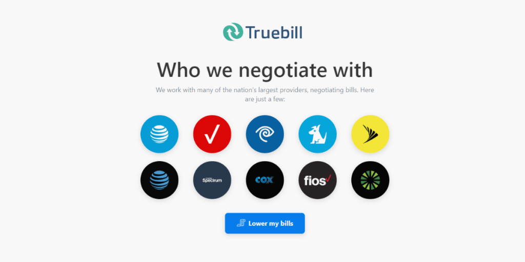 Truebill Features