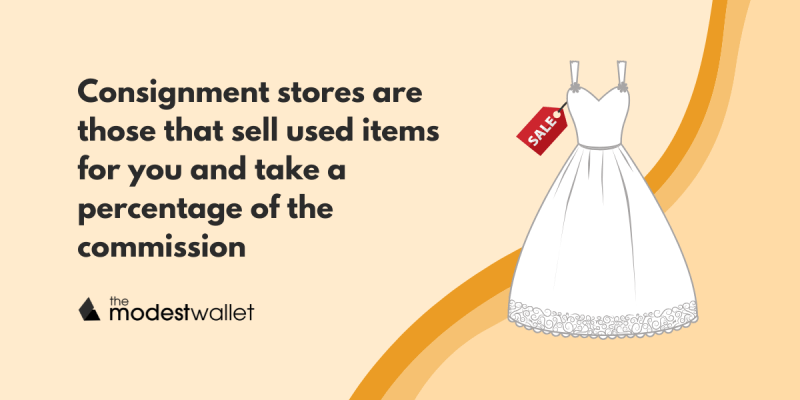 Sell Your Wedding Dress through a Consignment Store