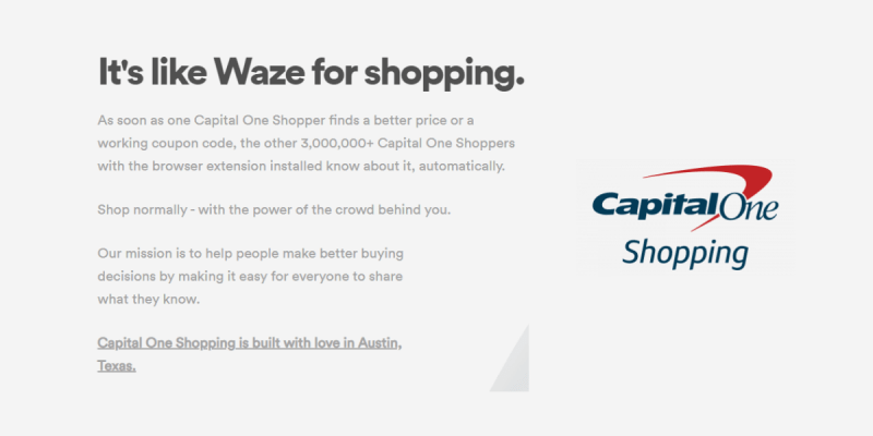 Capital One Shopping Extension Review