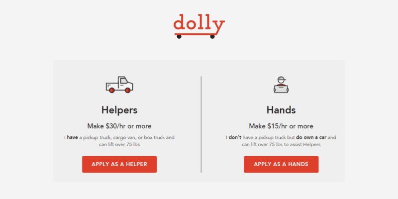 How Dolly Works Gig Economy Jobs