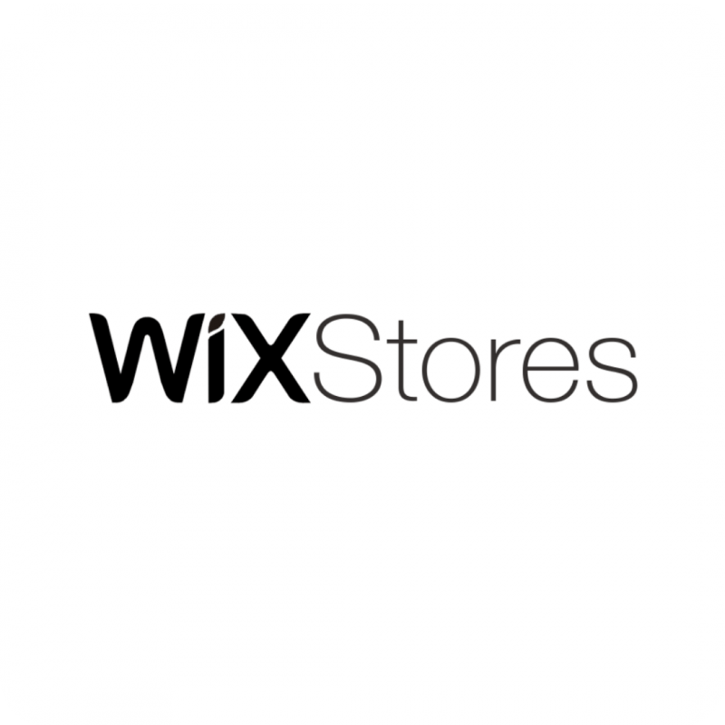 Wix Stores Logo