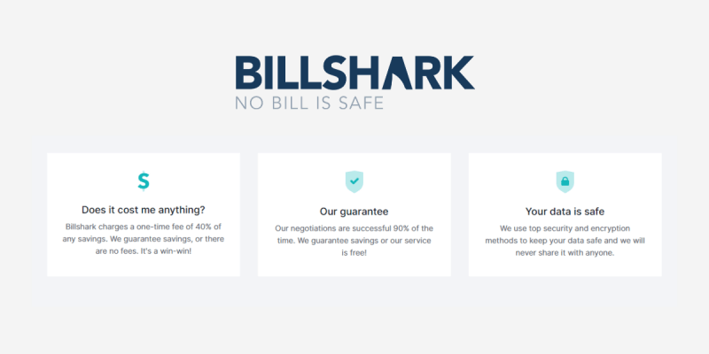 Billshark pricing