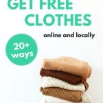 20 Legit Ways to Get Free Clothes (Online and Locally)