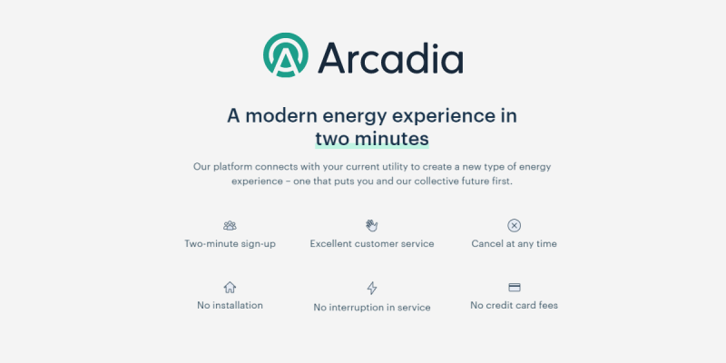 How Arcadia Works