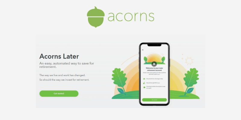 How Does Acorns Later Work