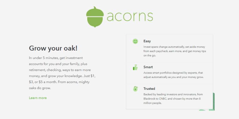 How Does Acorns Work